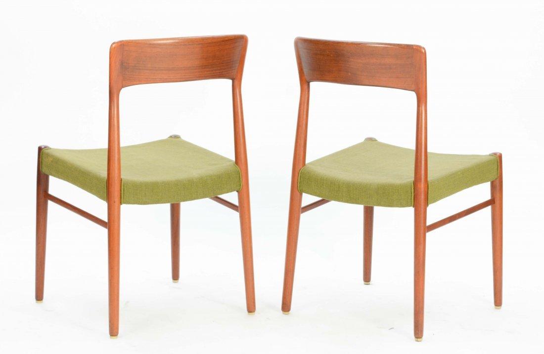 6  Niels Otto Møller Teak Dining Chairs for Jl Møller - 6