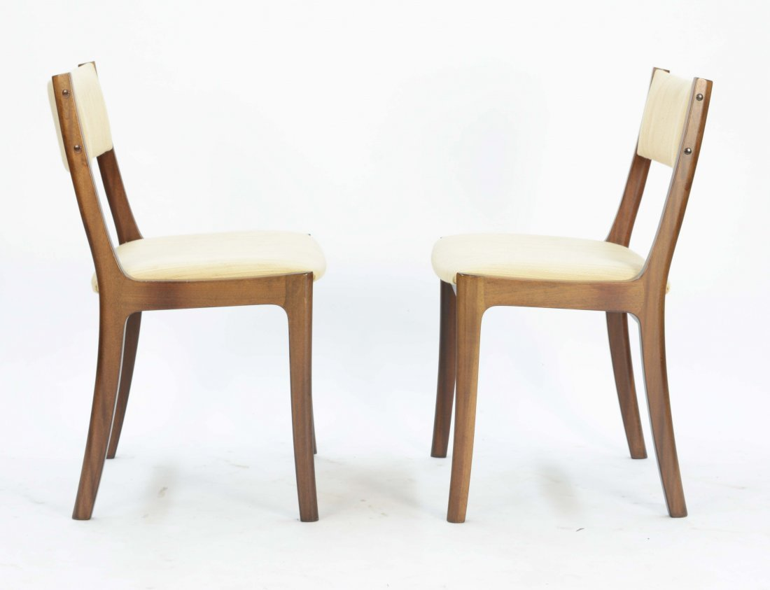 Set of 4 Ole Wancher Dining Chairs in Mahogany - 2