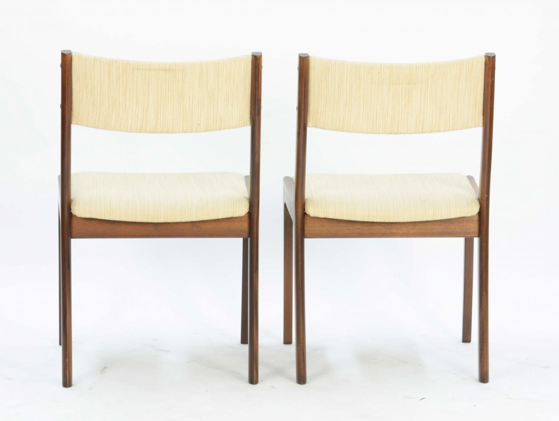Set of 4 Ole Wancher Dining Chairs in Mahogany - 3