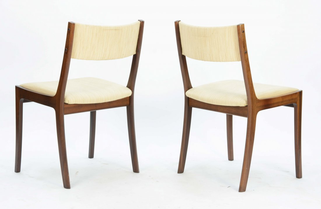 Set of 4 Ole Wancher Dining Chairs in Mahogany - 4
