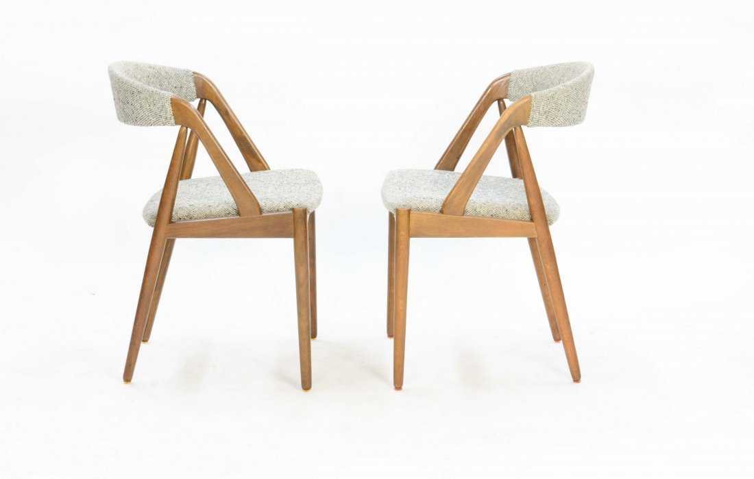 A set of 6 Kai Kristensen Teak Dining Chairs - 3