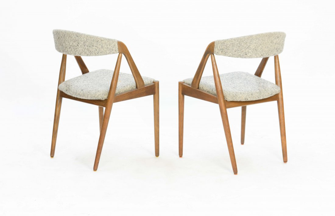 A set of 6 Kai Kristensen Teak Dining Chairs - 4
