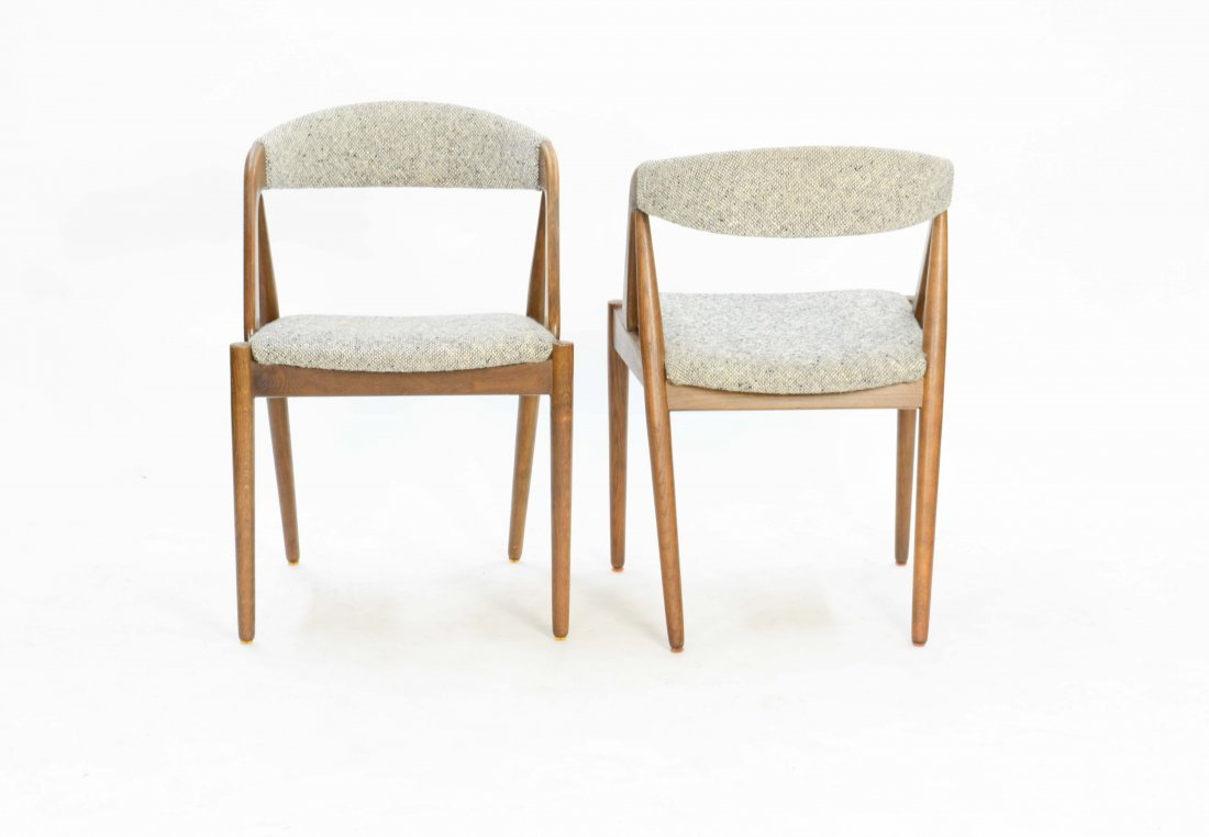 A set of 6 Kai Kristensen Teak Dining Chairs - 5
