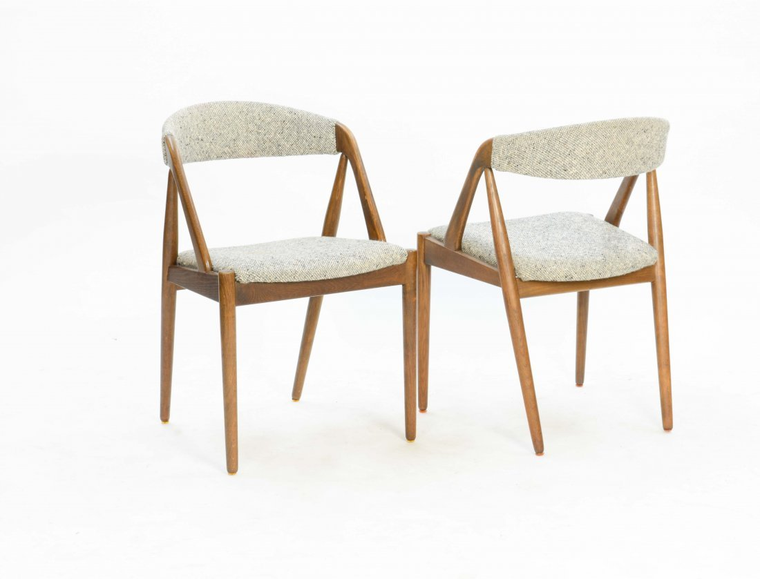 A set of 6 Kai Kristensen Teak Dining Chairs - 6