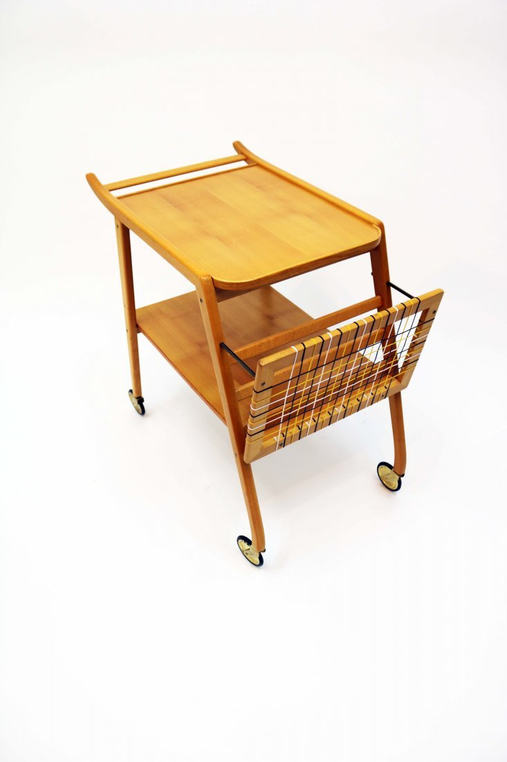 Mid-Century Swedish Breakfast Cart - 2