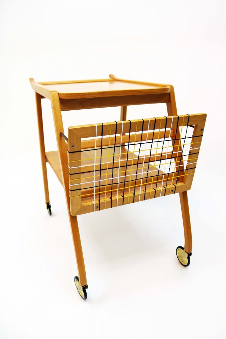 Mid-Century Swedish Breakfast Cart - 3
