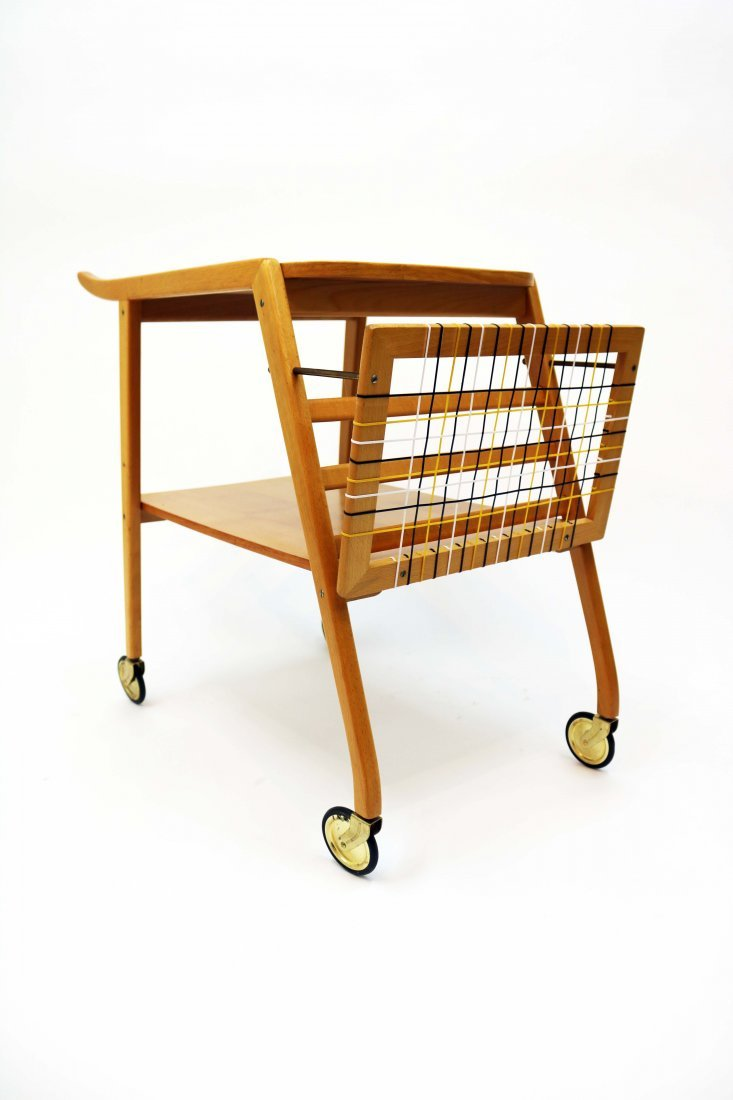 Mid-Century Swedish Breakfast Cart - 5
