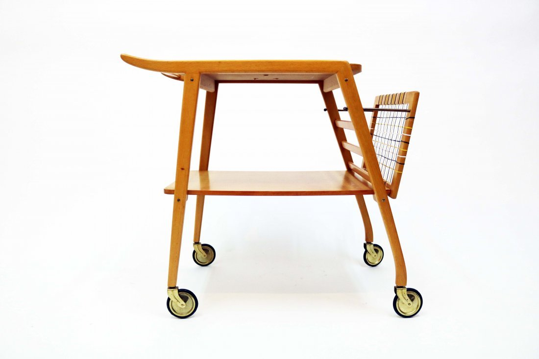 Mid-Century Swedish Breakfast Cart - 6