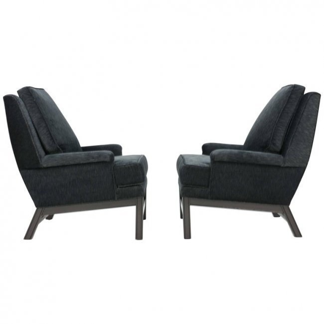 Gorgeous Pair of Midcentury Club Chairs Fully Restored - 2
