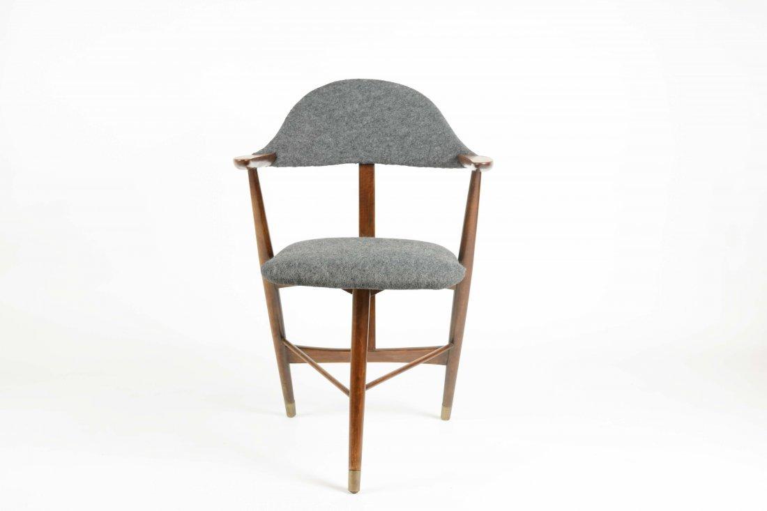 Danish Cabinetry Maker Custom tripod Desk Chair
