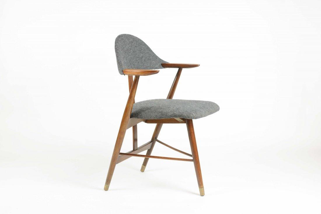 Danish Cabinetry Maker Custom tripod Desk Chair - 2