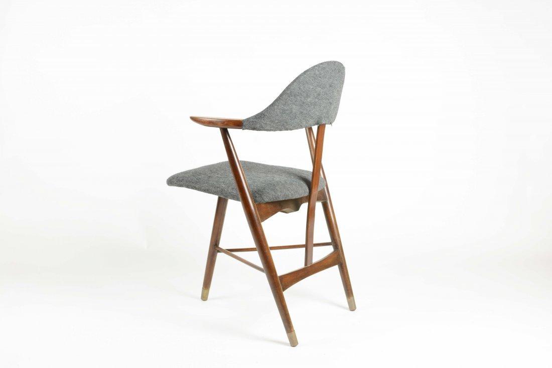 Danish Cabinetry Maker Custom tripod Desk Chair - 3