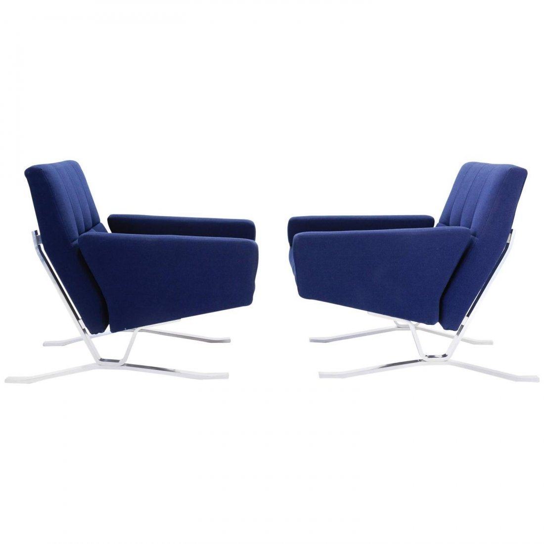 Club Chairs for JG Furniture Co. after Poul Kjaerholm