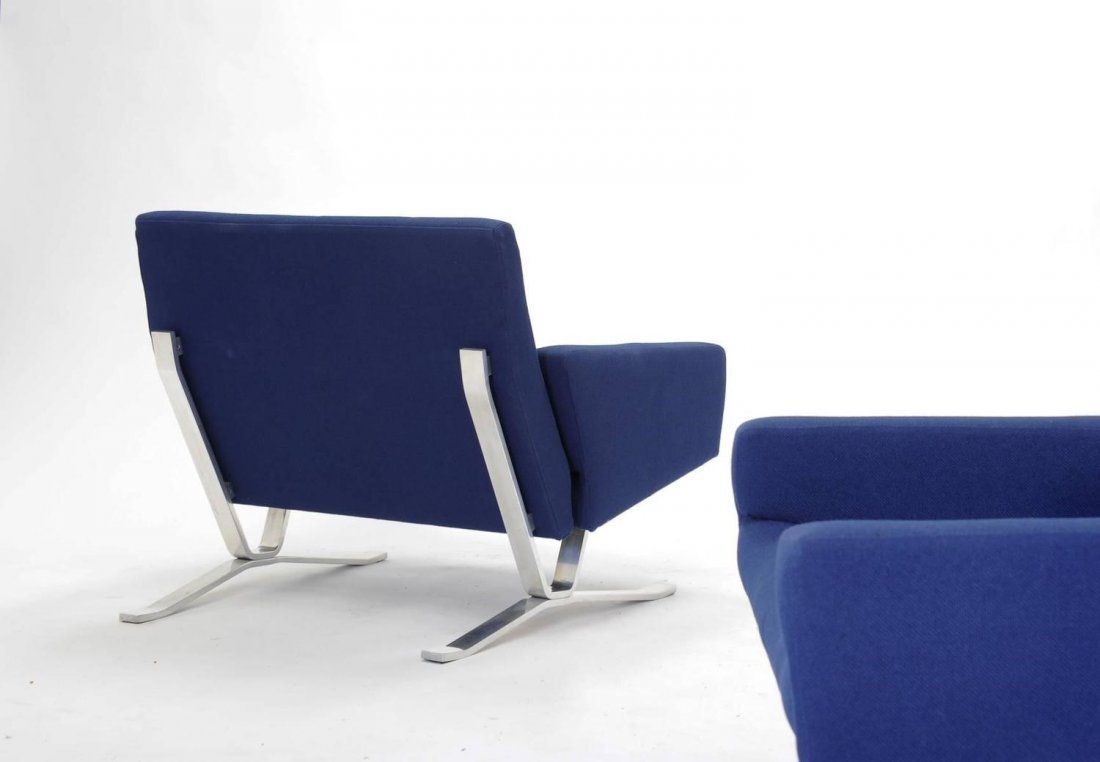 Club Chairs for JG Furniture Co. after Poul Kjaerholm - 4
