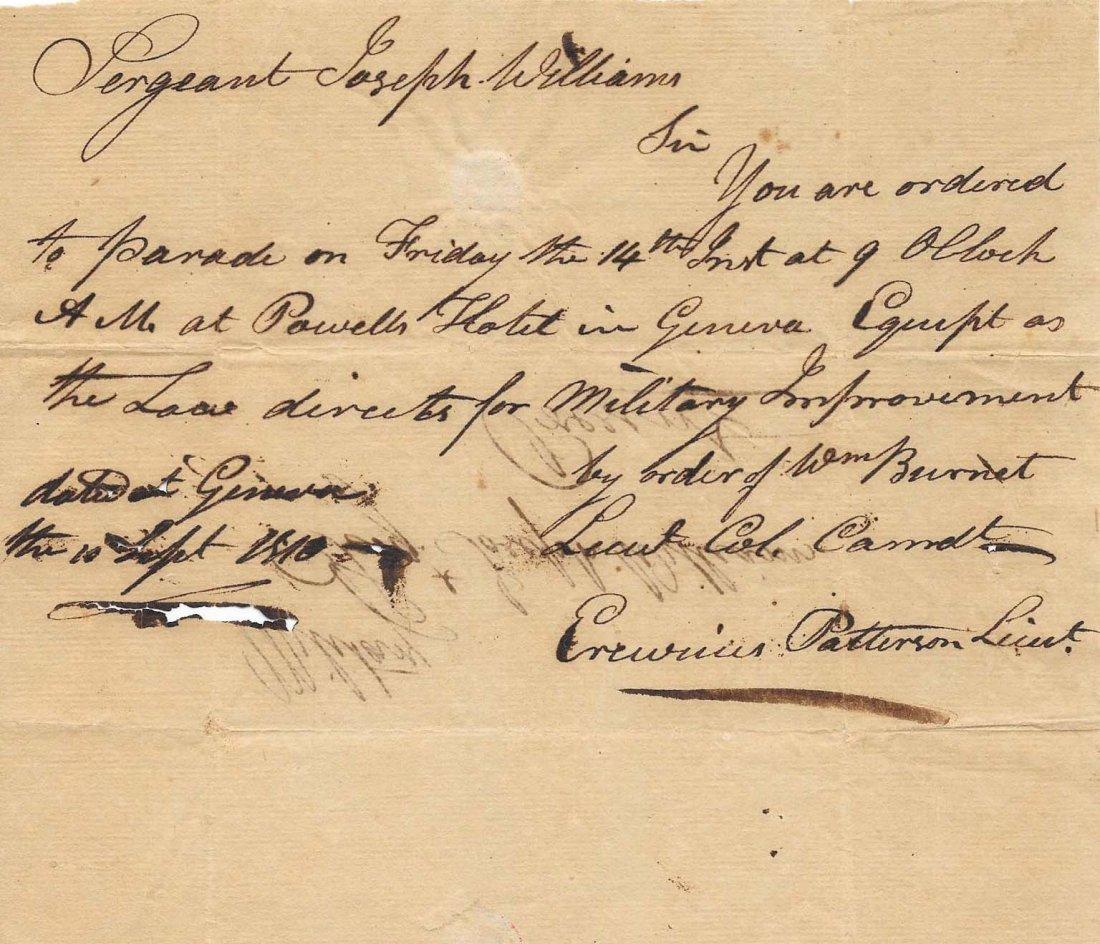 Revolutionary Era Letter