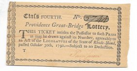 1790 Lottery Ticket