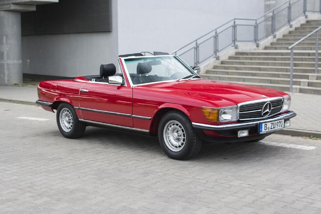 MERCEDES-BENZ 500SL, 1985; The original European