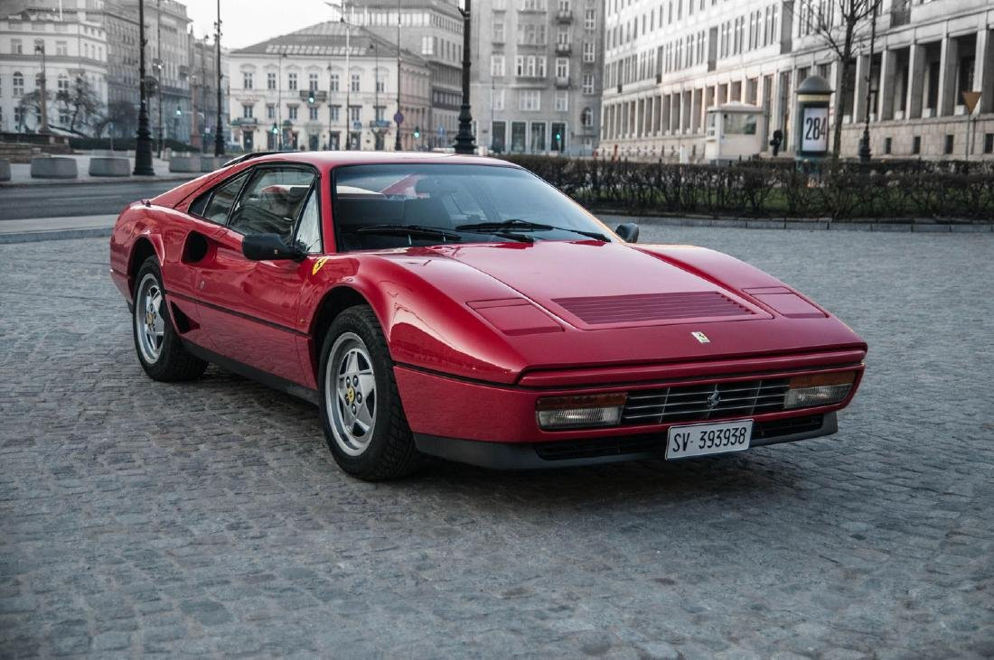 FERRARI GTB TURBO, 1989; One of the 44 examples of the