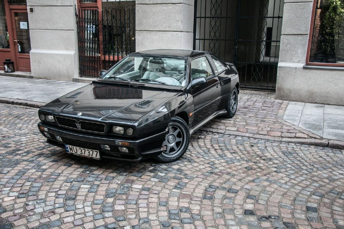 MASERATI SHAMAL, 1992; One of 369 examples made; a very