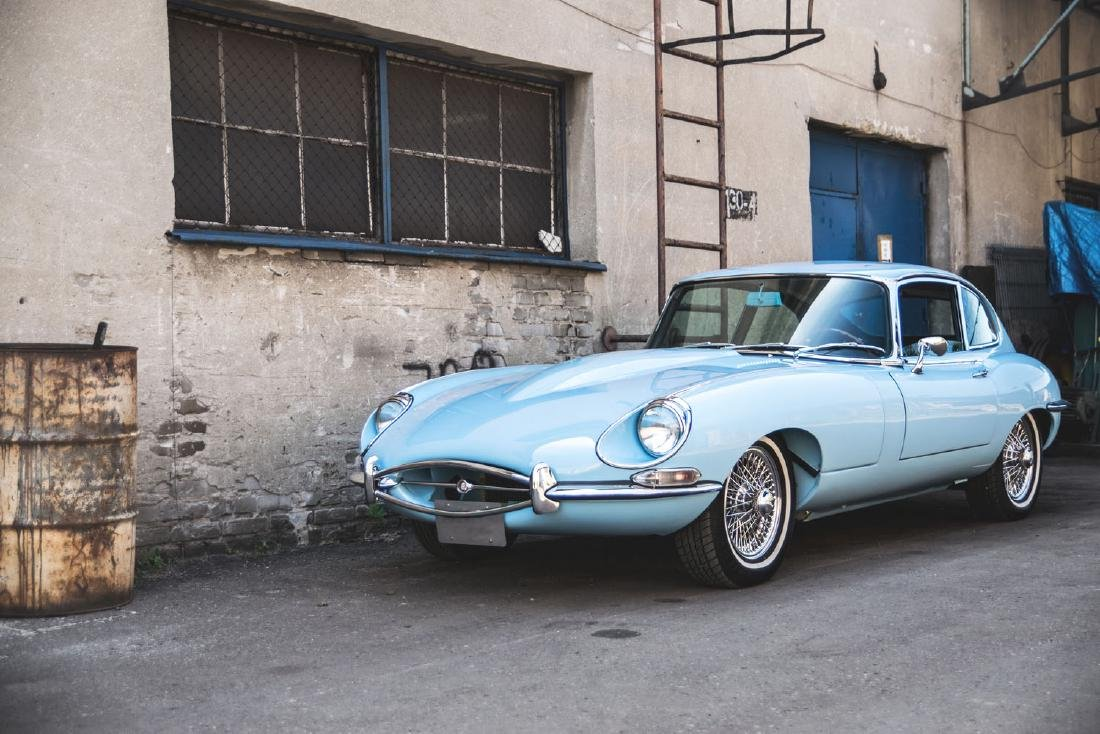 JAGUAR E-TYPE, 1968; The most beautiful car ever made