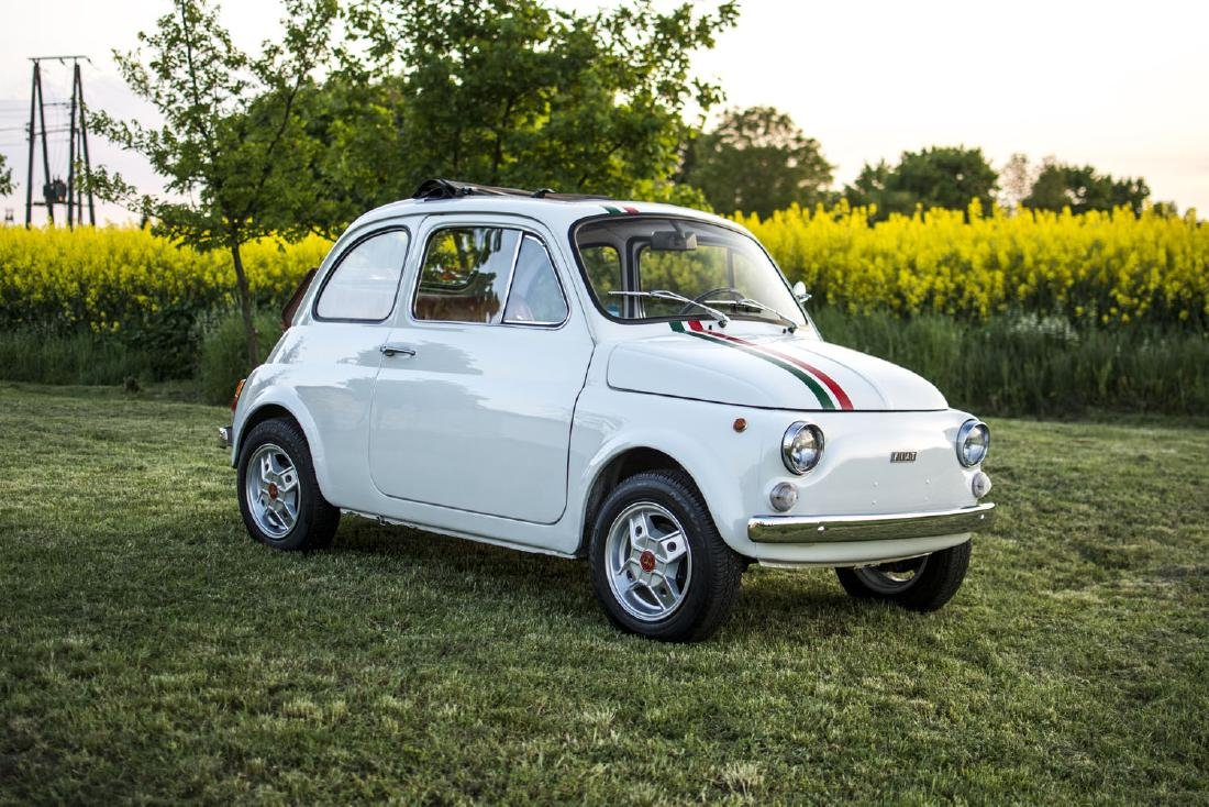 FIAT 500, 1975; An undisputed icon of the Italian