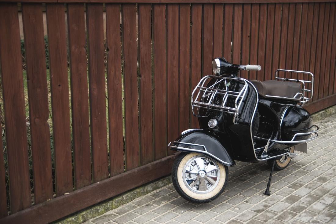 VESPA GS150; The most recognisable Italian motor