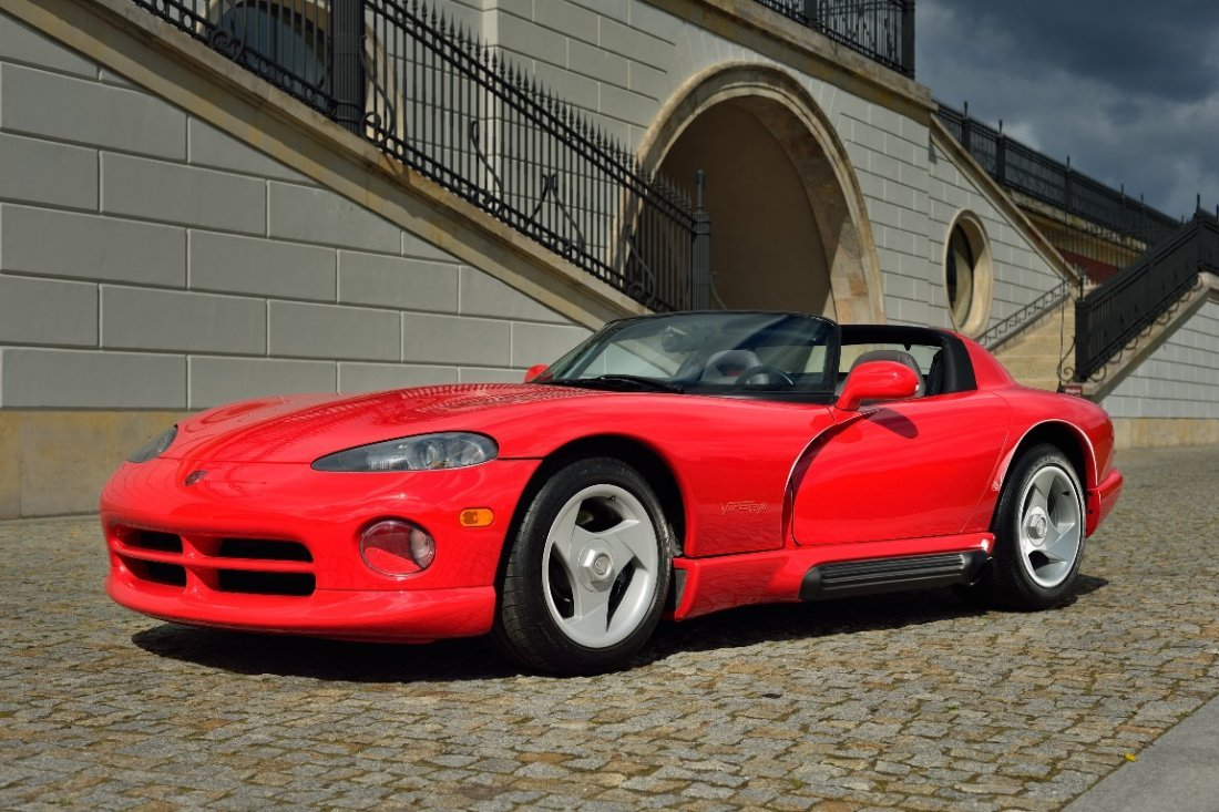Dodge Viper, 1993; Chassis Number 1B3BR65E0PV200414;  -