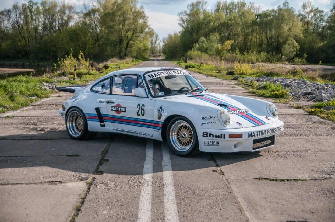 Porsche 911 RSR Recreation; Chassis Number: 9117200256;