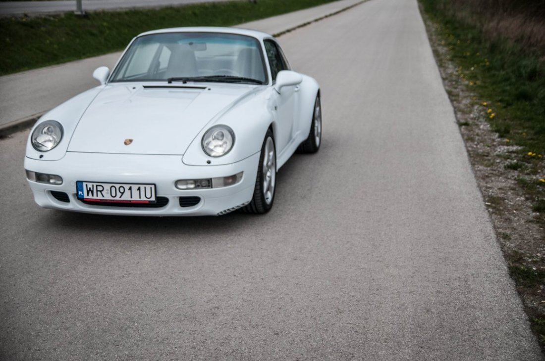 Porsche 911 Carrera S, 1997; Chassis Number