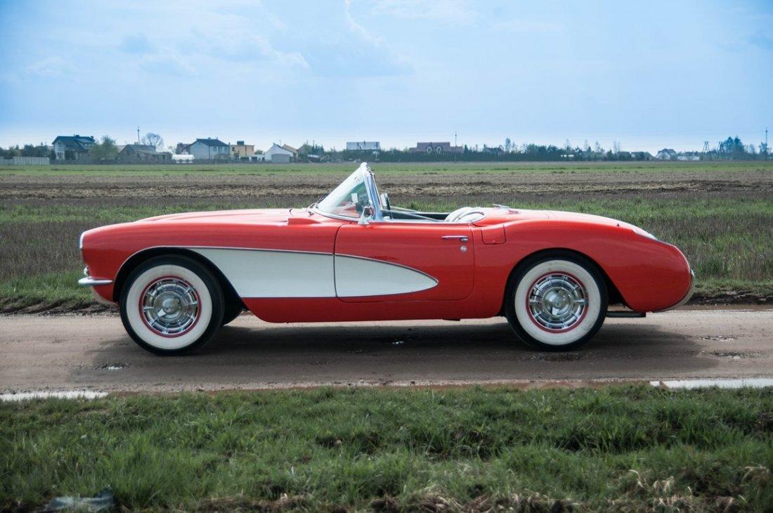 Chevrolet Corvette, 1956; Chassis Number E57S100050;  -