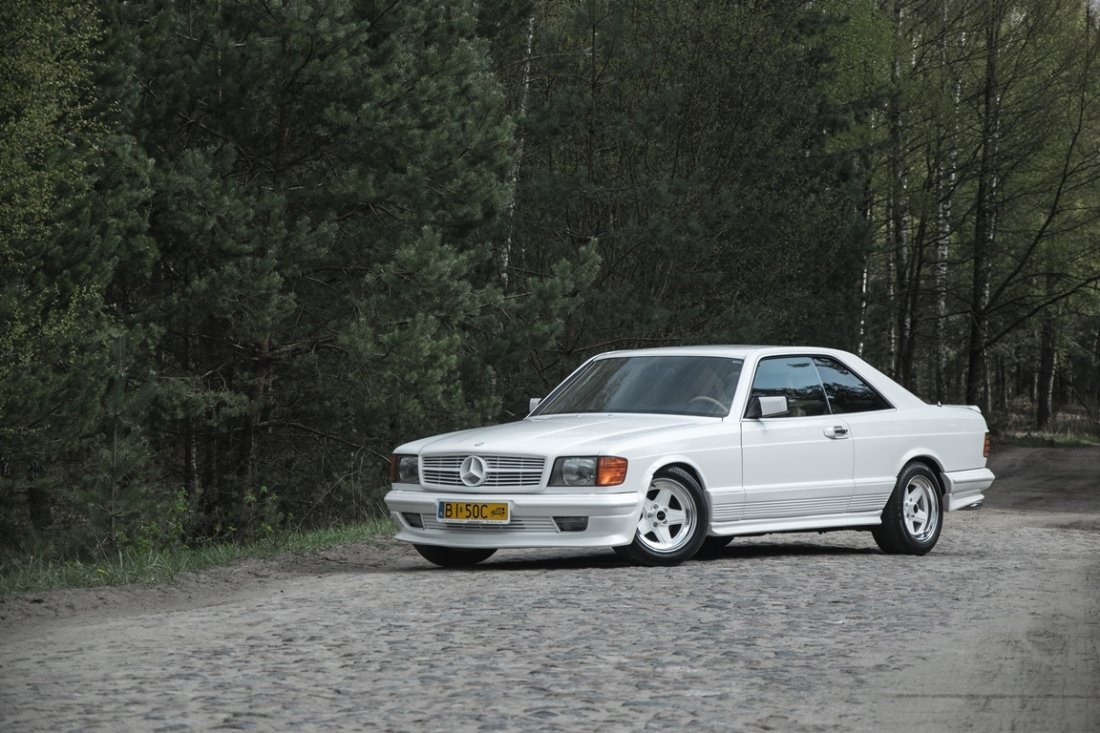 Mercedes - Benz 500 SEC AMG, 1985; Chassis Number: