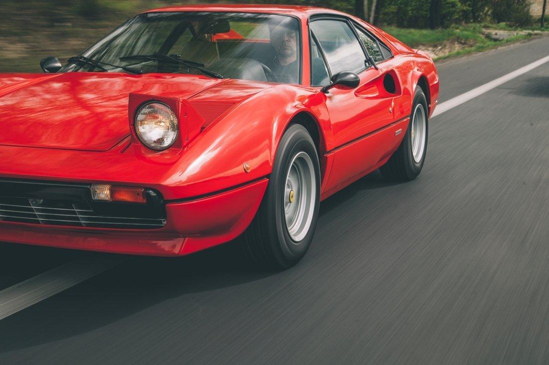 Ferrari 308 GTB;  - Restored and serviced; - Ferrari in