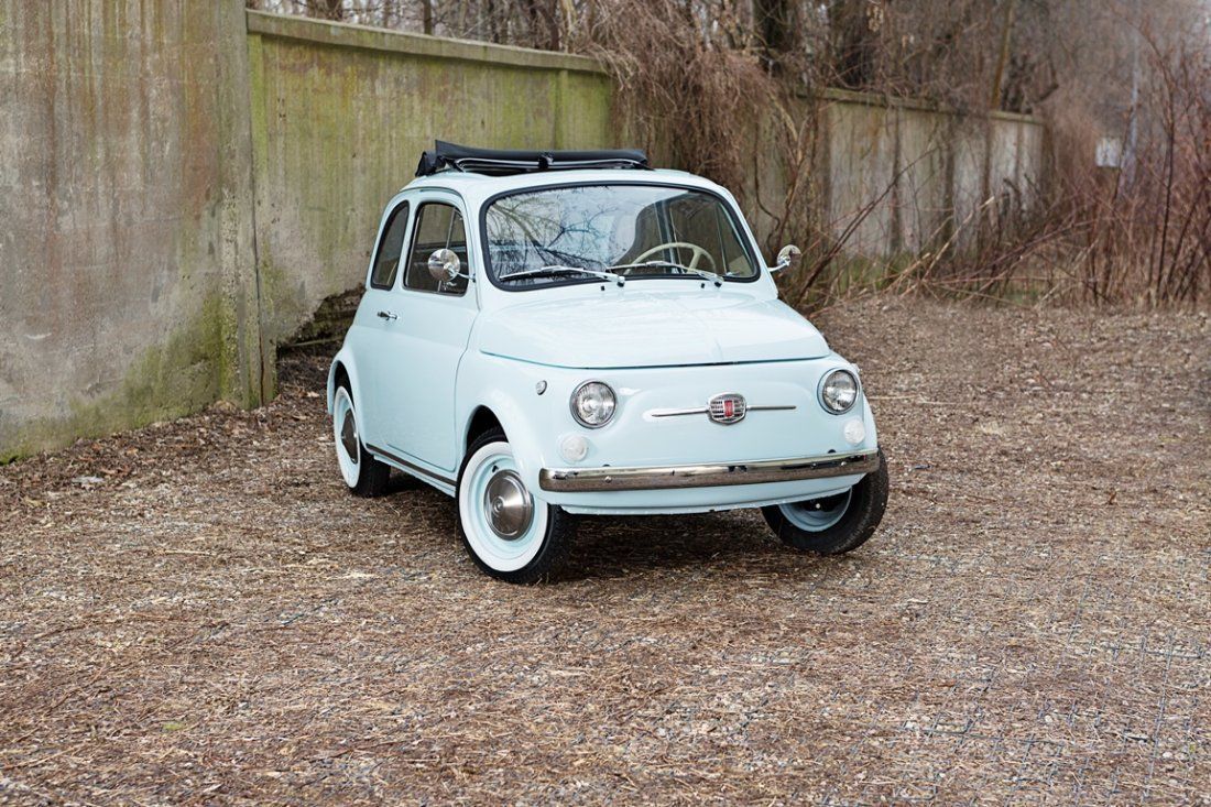 Fiat 500F, 1969; Chassis Number 2245537;  - Completely