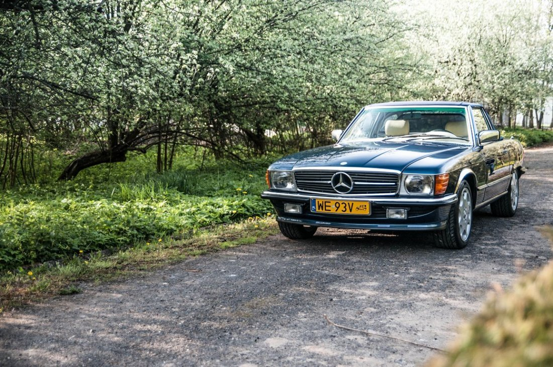 Mercedes - Benz 300SL, 1986; Chassis Number