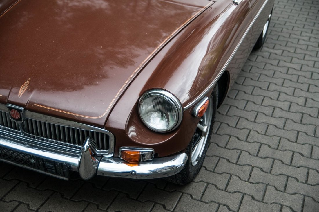 MG MGB, 1979; Chassis numer GHN5UL4917086;  - Preserved