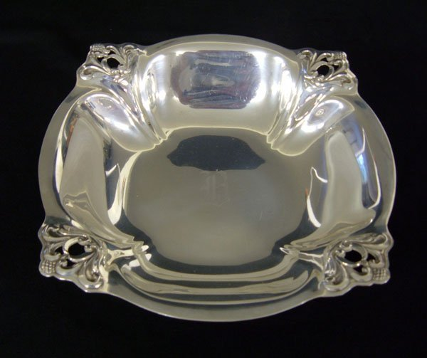 4: International Royal Danish Sterling Serving Bowl