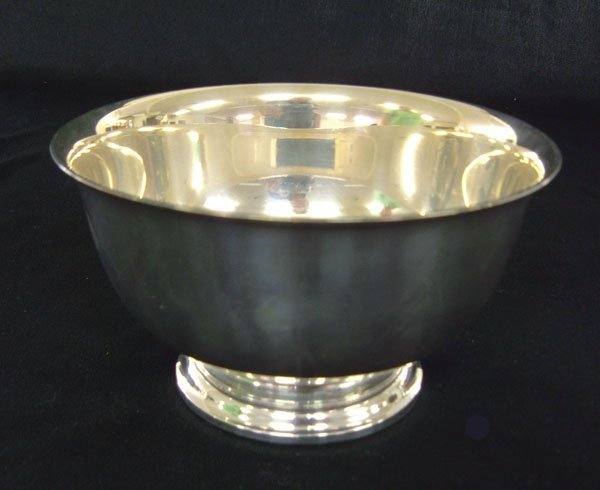 7: Gorham sterling Paul Revere reproduction bowl