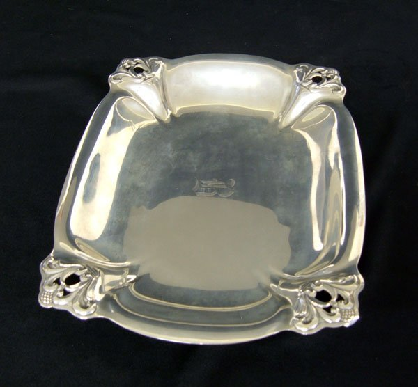 8: International Royal Danish sterling tray, H 183-3. S