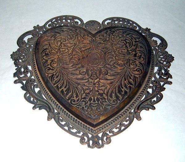 11: Bradley and Hubbard Iron Heart Trivet