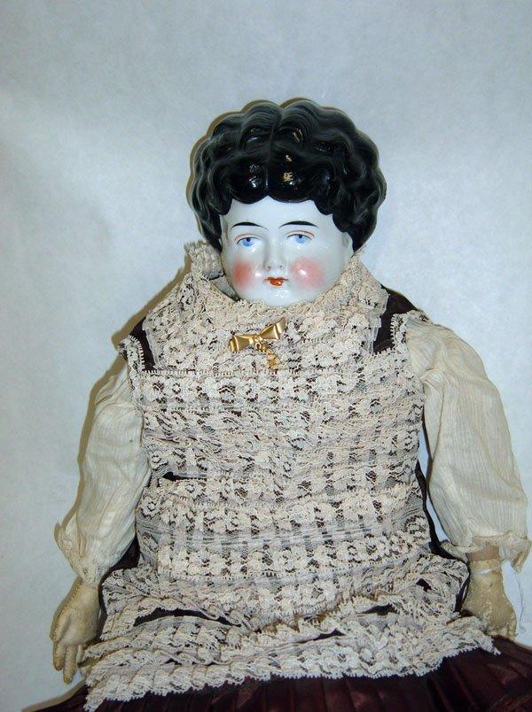 103: 19th Century German China Head Doll