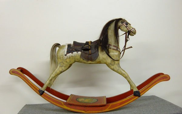 445: Nineteenth Century Rocking Horse  Exc. Condition