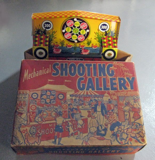 11A: Wyandotte Mechanical Shooting Gallery in original