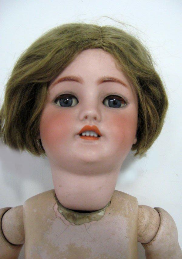 30'' doll C.M. Bergmann German bisque doll. German bisq