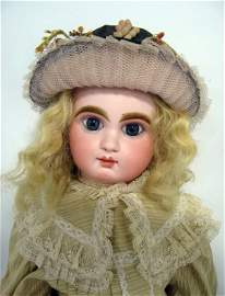 24'' doll Mascotte/J Bebe. French bisque, closed mouth,