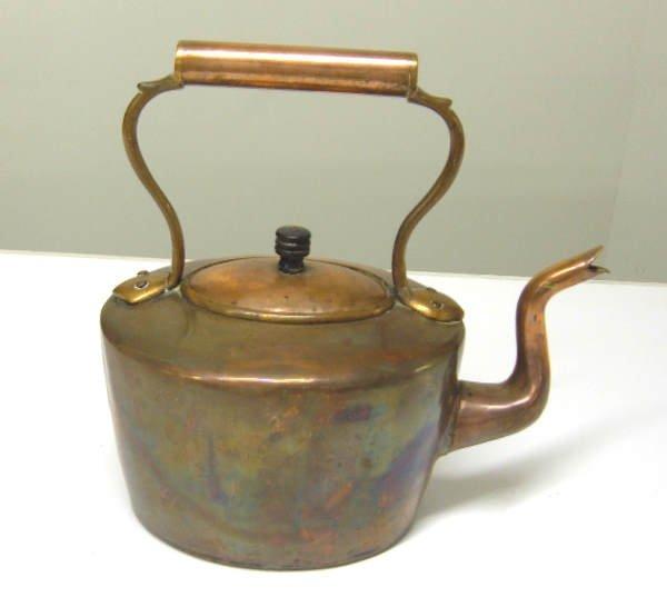 2: Copper kettle with goose-neck spout