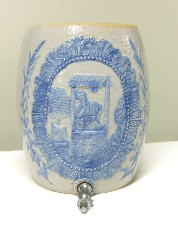 3:  Stoneware water jug, crock Robinson Clay