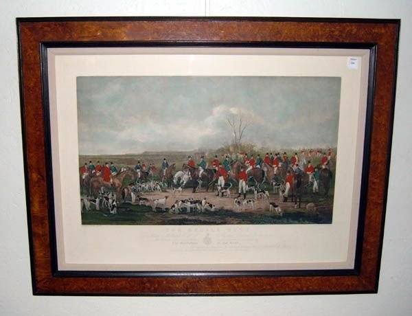 188: Post Anson Martin ''The Bedale Hunt''  WJ Simmons