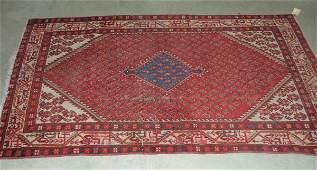 368: Oriental rug, Persian, semi-antique