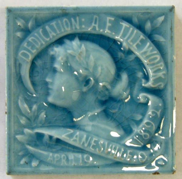 722: AET Co. American Encaustic Tile 1892