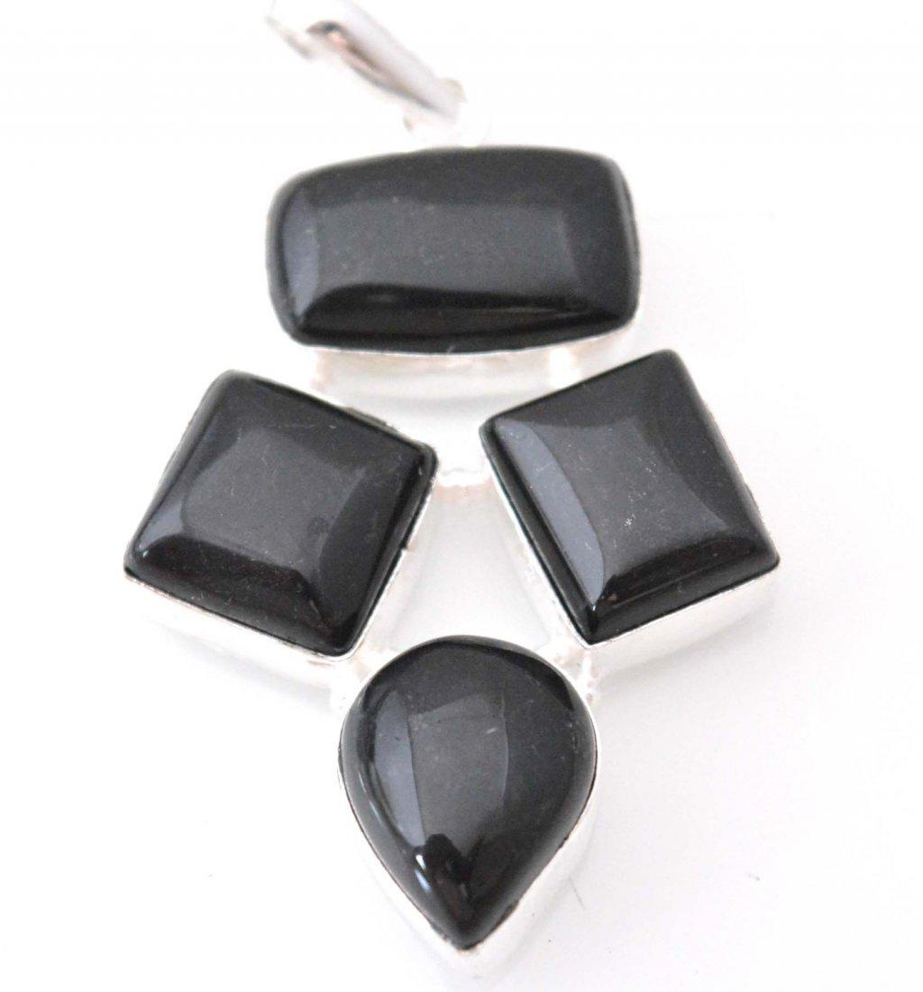 Beautiful Pendant With Black Onyx